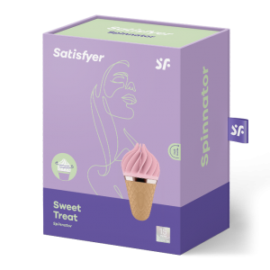 Stimulateur Satisfyer Sweet Treat - Rose