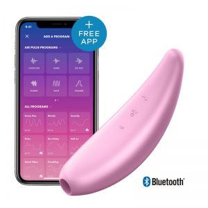 Stimulateur connecté satisfyer Curvy 3+